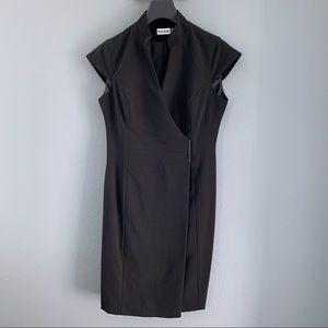 Marvin Richards Black Cocktail Work Dress Size 6